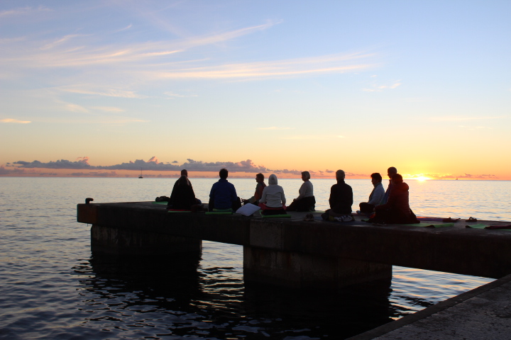 Yogaurlaub am Meer