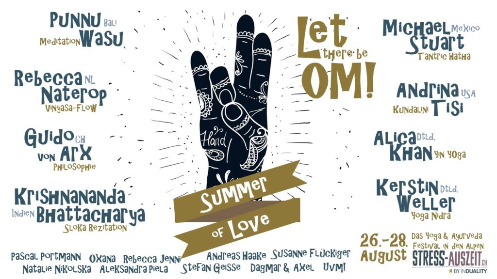 Summer of Love Yogafestival Let there be OM