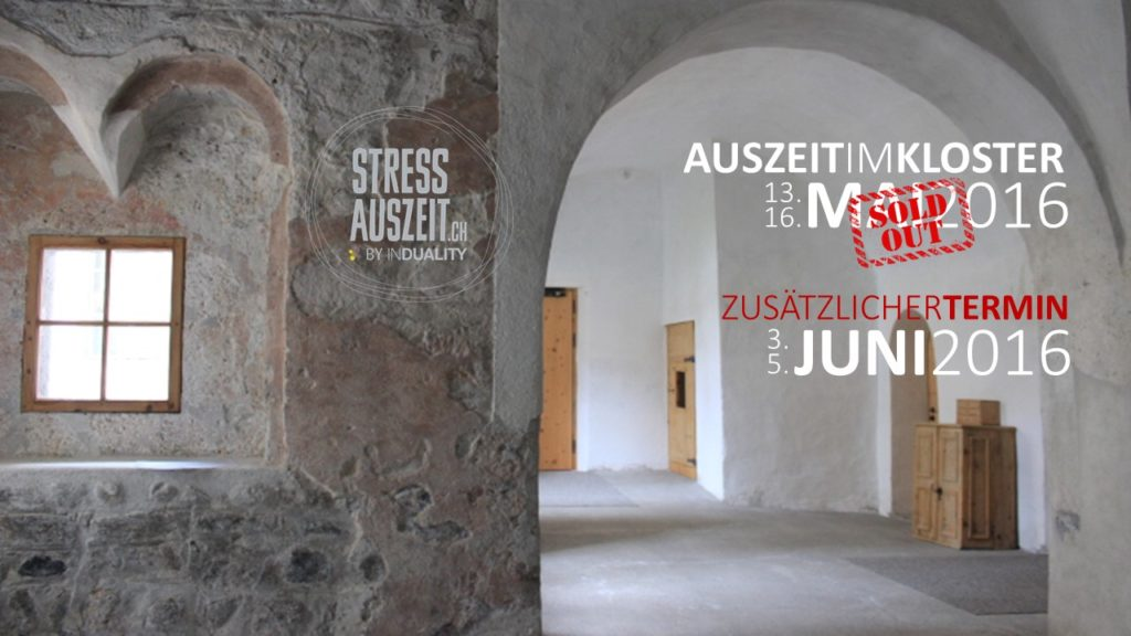 Termin Kloster Auszeit Juni 2016