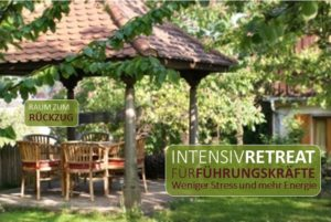 Bei Stress und Burnout das Manager Retreat