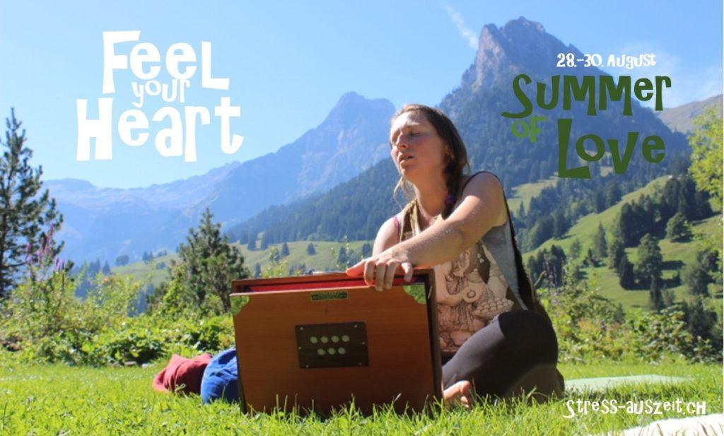 Mantra singen öffnet unser Herz