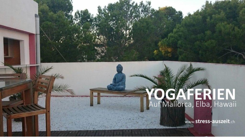 Yogaurlaub auf Mallorca für gestresste