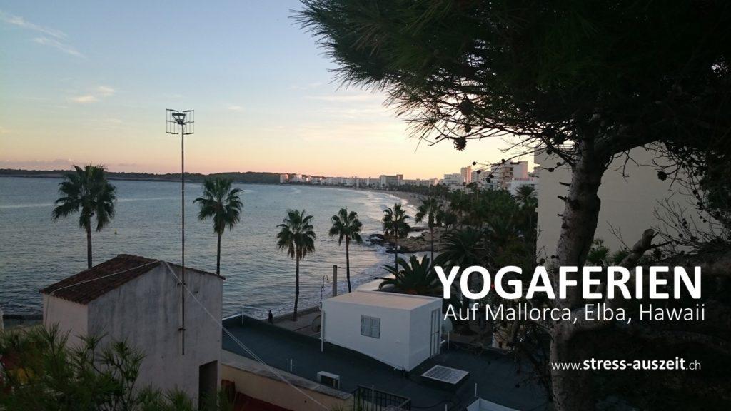 Yogaferien bei Stress