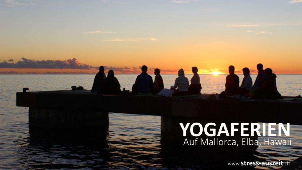 Yogaferien in der Natur