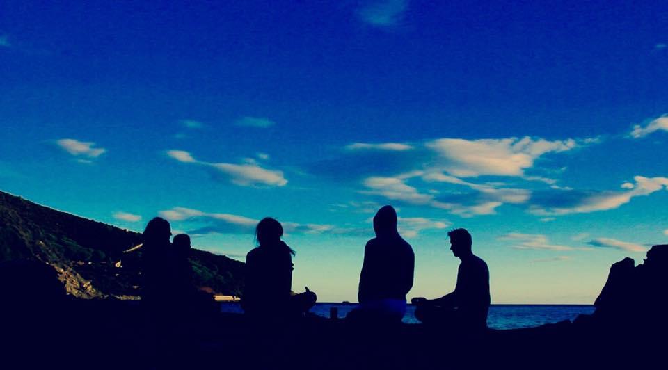 Yogaferien Elba Meditation am Meer