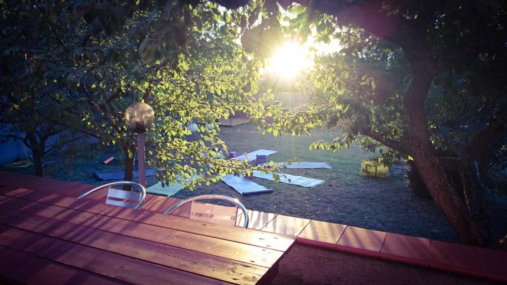Yogaferien Elba Yoga am Morgen