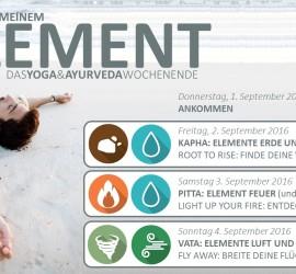 Ayurveda und Yoga Elemente