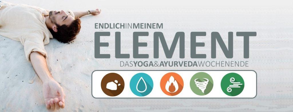 Ayurveda Elemente Wasser, Erde