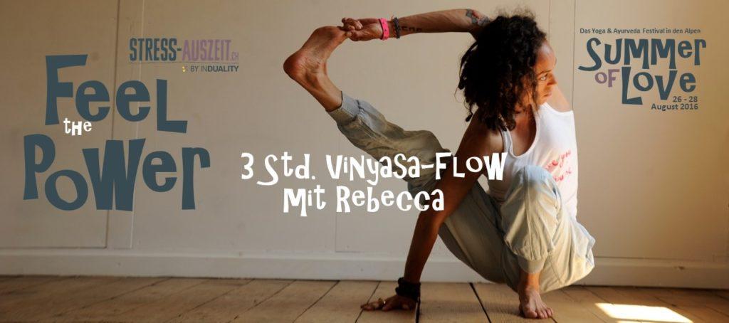 Yoga-Festival mit Rebecca