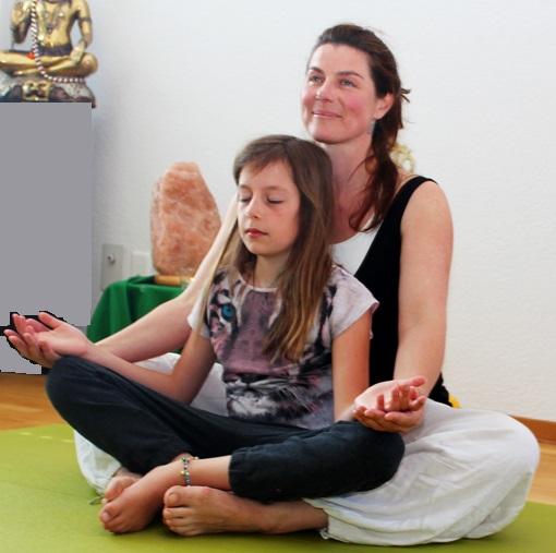 Kindermeditation Yogafestival