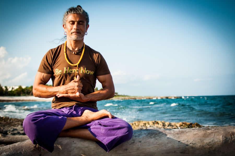 Yogafestival mit Michale Stewart
