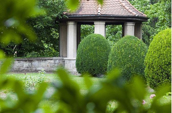 Auszeit im Kloster Garten