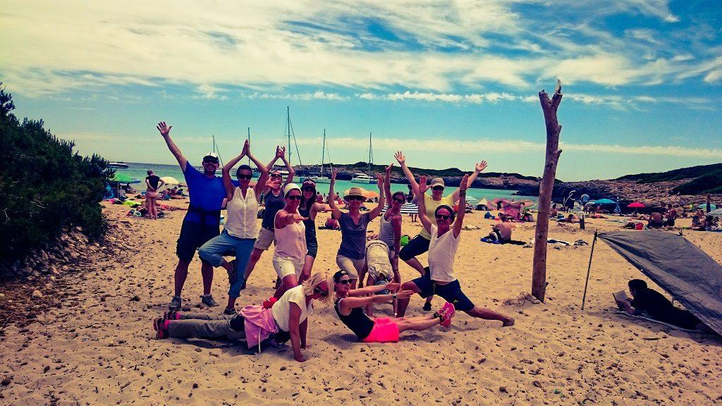 Yogaferien am Meer Mallorca Badebucht Baden Internet