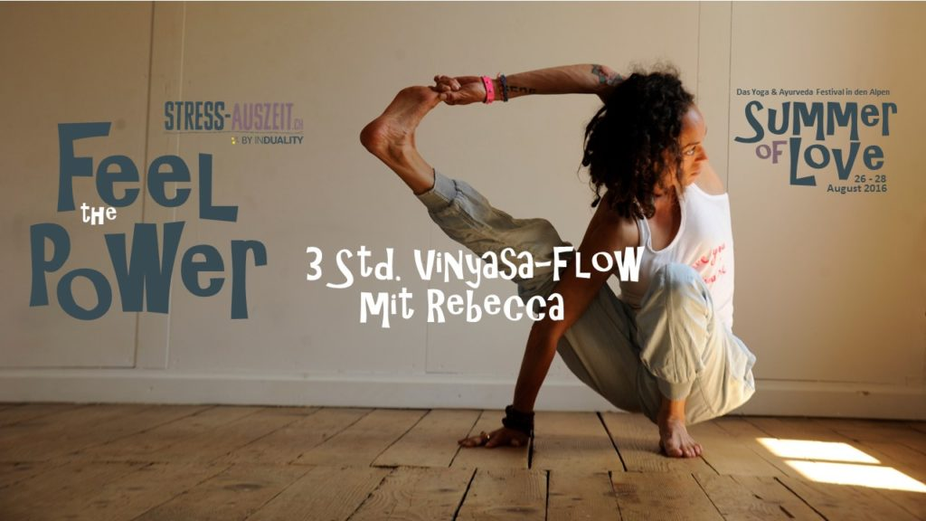 Yoga Festival summer of love with rebecca