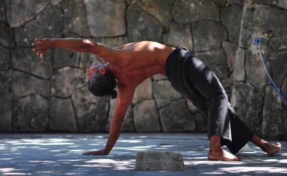 Yoga mit Michael am Yogafestival