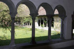 Innenhof eines Klosters